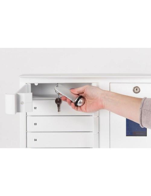Districlé, distributeur de clés 6 casiers