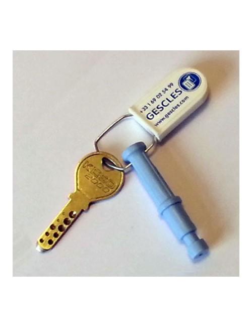 Districlé, clé d'ouverture supplémentaire