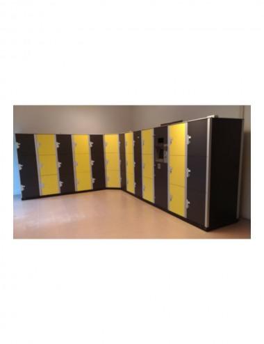 Armoire 3 casiers grande profondeur GESBOX STRAT