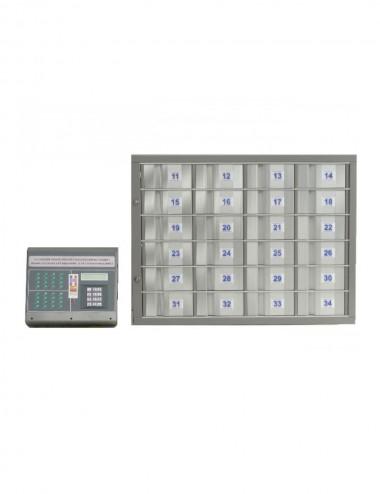 Centrale de commande séparée 16 casiers