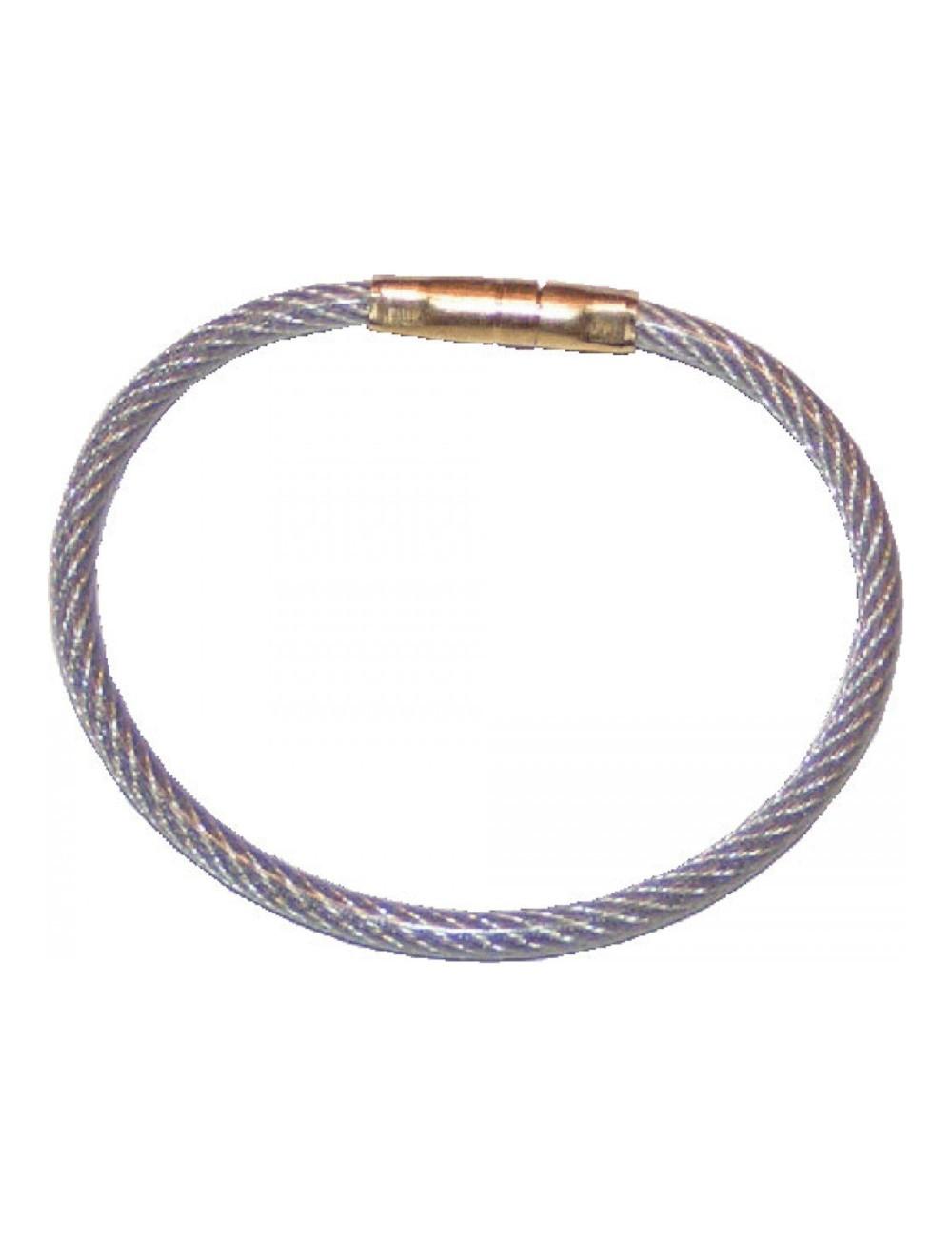 Scellés anneau gaine plastique à usage unique