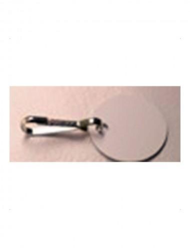 Etiquettes en PVC ronds pour inscription à l'encre Ø 3 cm