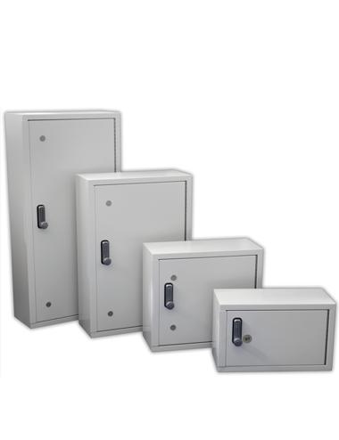 4 armoires fortes spéciales pour intégrer le tableau de clefs
