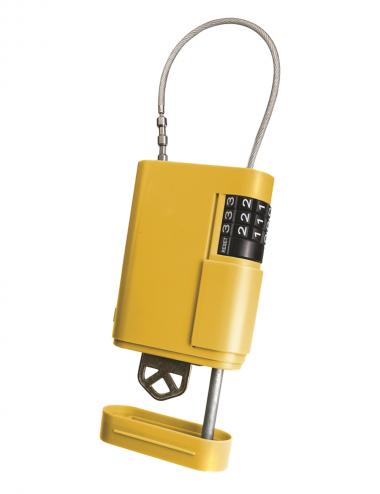 Cadenas cache clef jaune