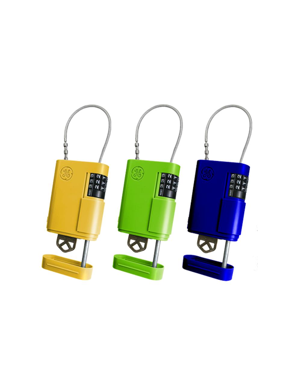 3 couleurs de cache clef cadenas