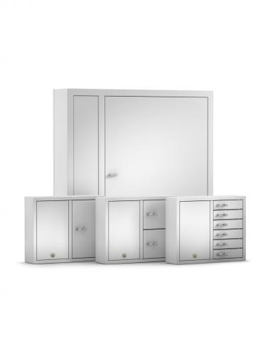 Une armoire maitre commande jusqu'à 15 extensions
