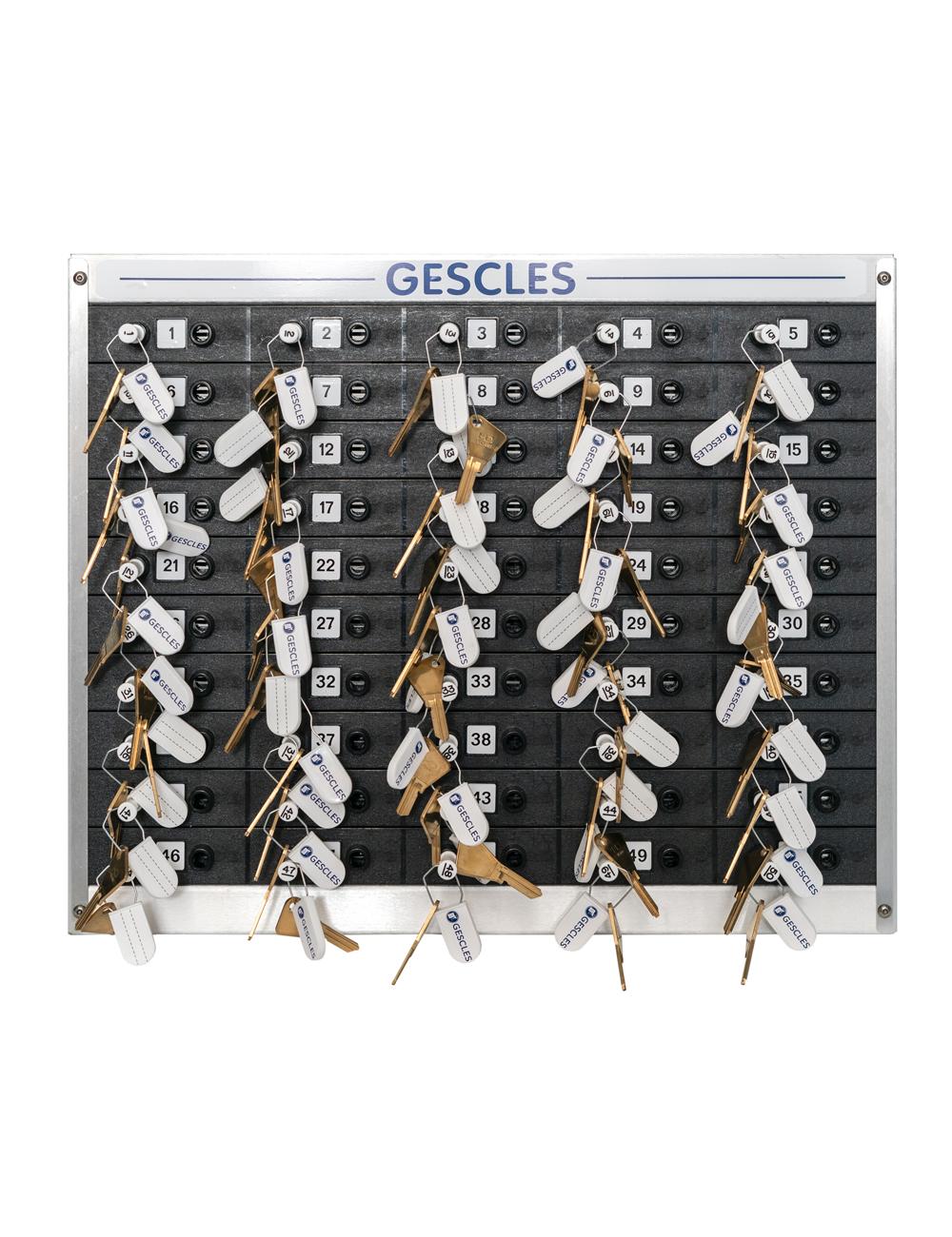 Tableau mécanique 50 clefs