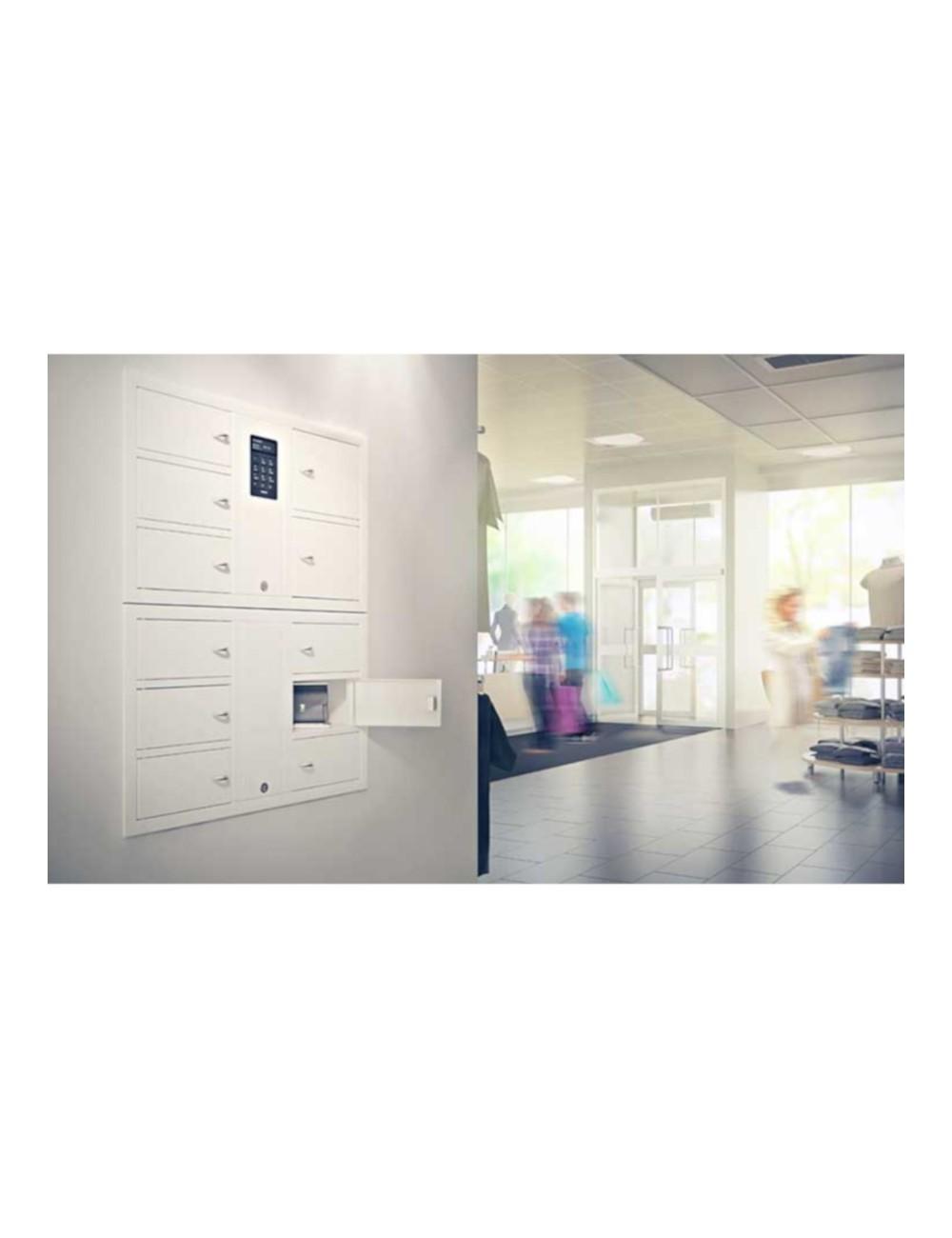 Exemple d'application casier autonome code électronique