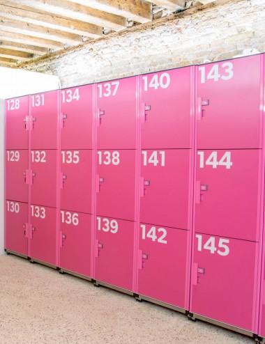 Personnalisez vos casiers
