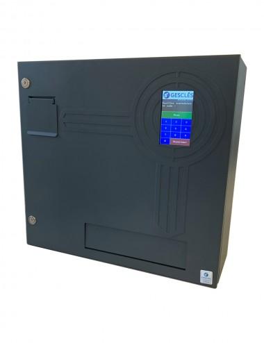 Distributeur de clé grand format avec trappe
