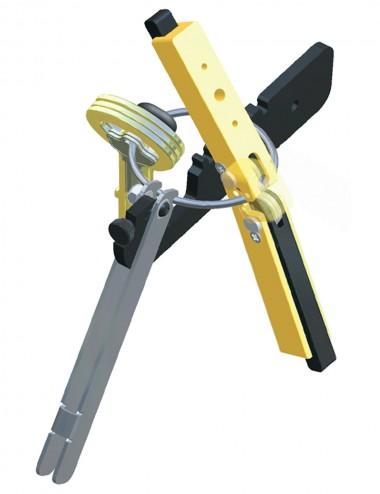 Outil pour sertir les anneaux rigides et flexibles