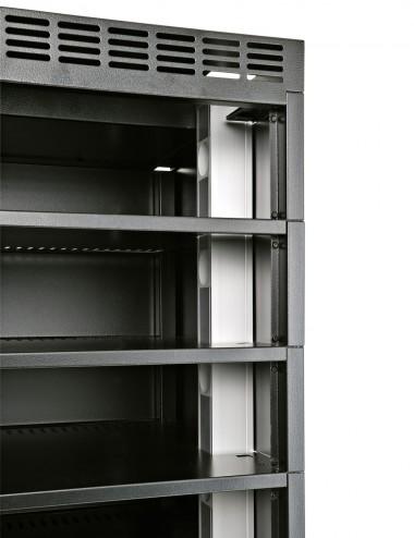 2 prises de courant par casiers