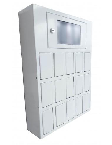 casiers pour déposer des clés