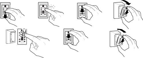 Keysafe mini, mode d'emploi